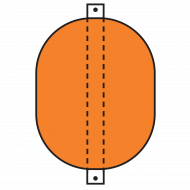 Model B1318B Type B Barrier Float