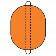 Model B2436A Type A Barrier Float