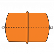 Model B3452B Type B Barrier Float