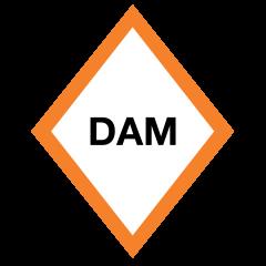 Dam Warning Signs