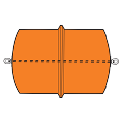 Model B3452A Type A Barrier Float